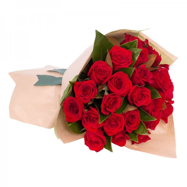 15 Valentine's Red roses Bouquet